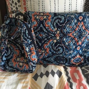 Vera Bradley Messenger Bag & Lunch Tote
